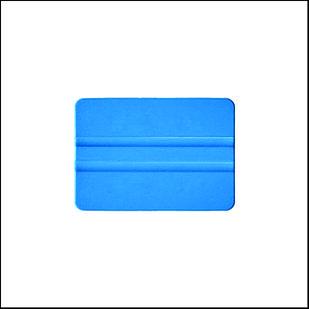 Ракель пластиковый синий