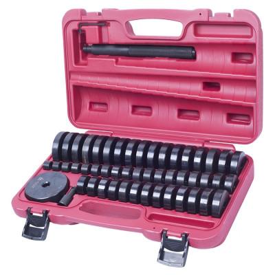 МАСТАК Набор оправок для монтажа и демонтажа подшипников, 18-74 мм, кейс, 49 предметов
