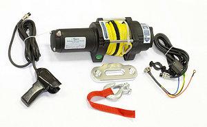 Лебедка электрическая ATV СТОКРАТ QX 4.0 S 12V 1.6 л.с. с синтетическим тросом