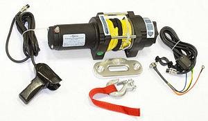 Лебедка электрическая ATV СТОКРАТ QX 3.0 S 12V 1.5 л.с. с синтетическим тросом
