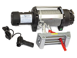 Лебедка электрическая индустриальная СТОКРАТ HD 15.5 WP, 12V, 6.8 л.с.