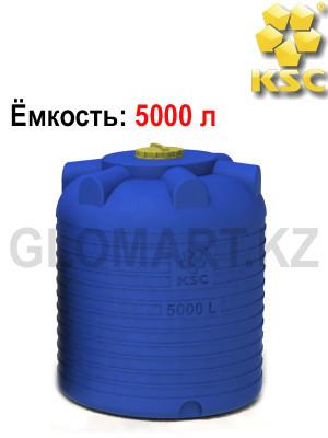 Бак на 5000 л, экологически чистый полиэтилен