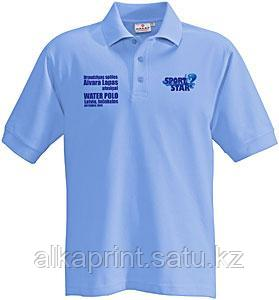 Нанесение логотипа на футболки в Алматы