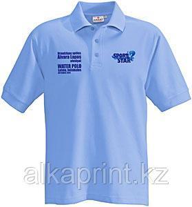 Нанесение логотипа на футболки в Алматы - фото 1