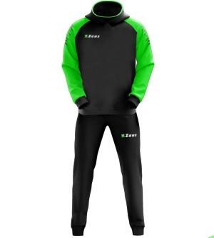 Тренировочный костюм TUTA ENEA черно-зеленый