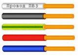 Провод ПВ3 Ж/З (ПВ 3 желто зеленый  4, 6, 10, 16, 25, 35, 50 для заземления), фото 2