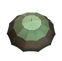 Зонт-трость Real Star, полуавтомат, трехцветный хаки