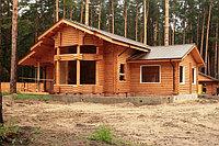 Деревянный дом в Казахстане