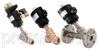 Отсечные и седельные клапаны (с пневмоуправлением)