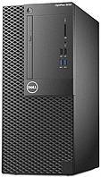 Компьютер Dell/OptiPlex 3050/MT/Core i3/7100/3,9 GHz/4 Gb/500 Gb/DVD+/-RW/Graphics/HD620/256 Mb