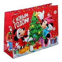 Яркий ламинированный пакет с самыми любимыми героями Disney придётся по душе любому ребёнку и сделает подарок