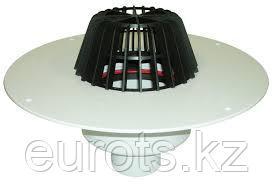 HL62P Воронка с листвоуловителем, с теплоизоляцией, с корпусом из ПВХ, с вертик. выпуском