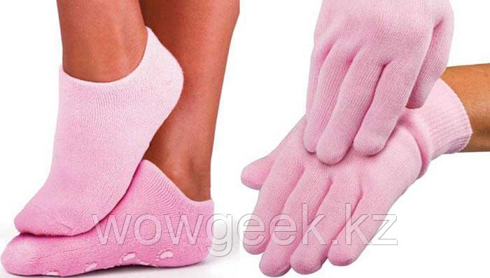 Многоразовые гелевые SPA-носочки и перчатки