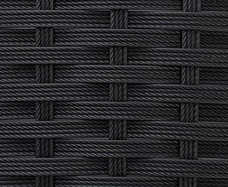 Ротанг 4х-полосная-коса ,черный.
