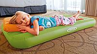 Надувной детский матрас 157*88*18 см с подушкой Intex 66801