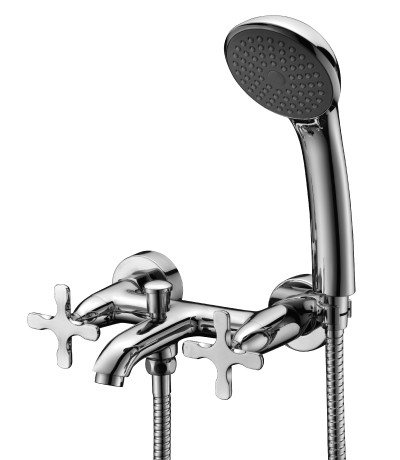 Смеситель для ванны с коротким изливом LeMark Серия DUETTO LM5712C