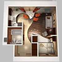 Дизайн-проект интерьера и экстерьера, Ландшафтный дизайн, АР чертежи, эскизный проект.