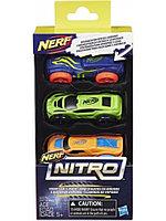 Игрушка Hasbro Nerf Nitro машинки 3 шт