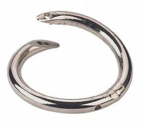 Кольцо носовое для быков, S-образное, диам. 59 мм, № 11121, КЕРБЛ