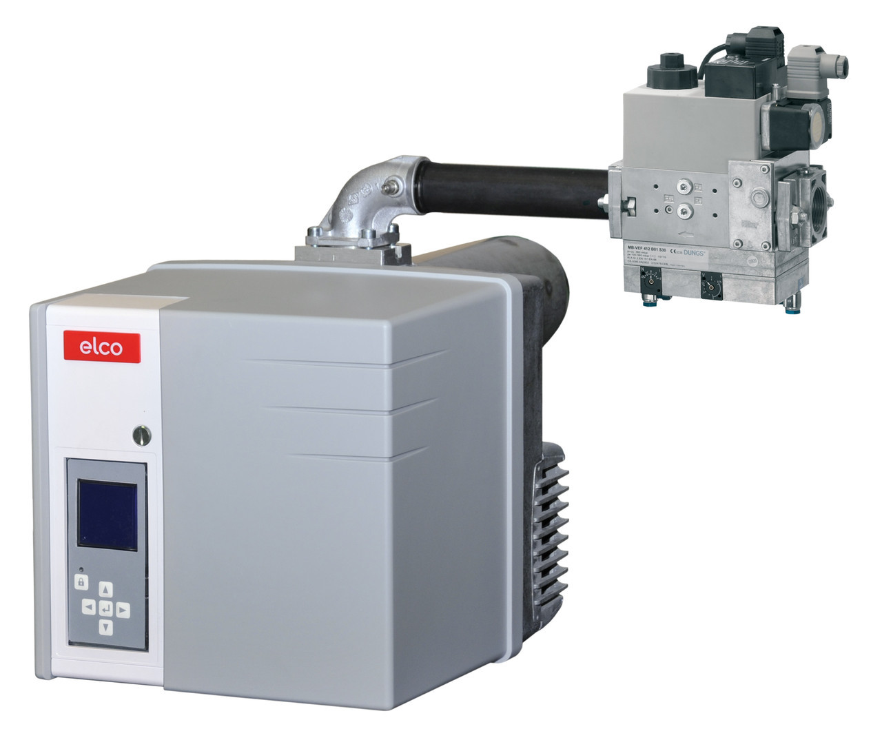 "Двухтопливная горелка ELCO VECTRON vgl 2.120 kl, до 120 кВт, (дизель/газ + газовая рампа d 3/4"")"