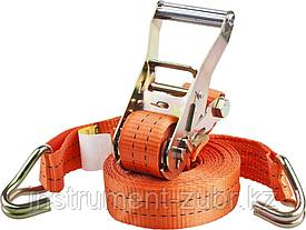 """Ремень STAYER """"PROFESSIONAL"""" для крепления груза, ширина ленты 35мм, нагрузка до 2000кг, длина 4м"""