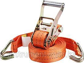 """Ремень STAYER """"PROFESSIONAL"""" для крепления груза, ширина ленты 35мм, нагрузка до 2000кг, длина 6м"""