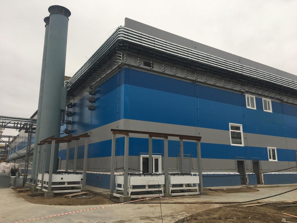 Многофункциональный комплекс на Павлодарском Нефтехимическом Заводе