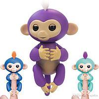 Интерактивная игрушка обезьяна Fingerlings Monkey, фото 1