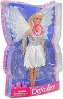 Немного помятая!!! 8219 Кукла с крыльями     21х33см.