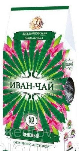 """""""Северный чай"""" Иван-чай зеленый листовой, 50 гр"""