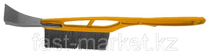 Щетка-скребок для АВТО  с металлик