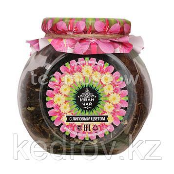"""""""Северный чай"""" Иван-чай листовой ферментированный с липовым цветом, стекло 50гр"""