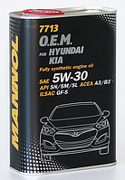 Моторное масло MANNOL O.E.M. for Hyundai Kia 5W30 SN 1L METAL