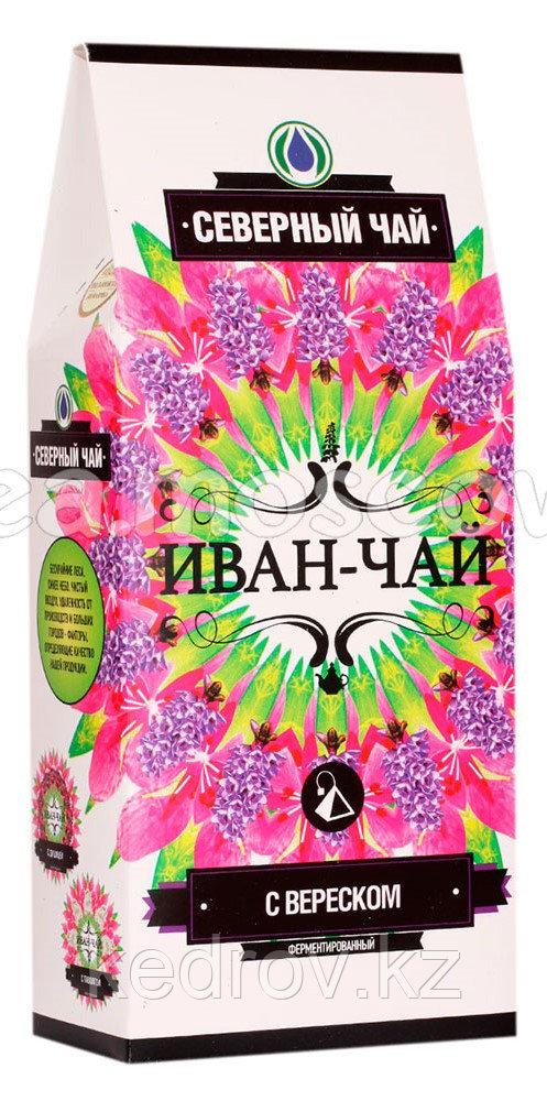 """""""Северный чай"""" Иван-чай ферментированный с вереском, 30гр, пирамидка, 15 шт"""