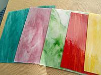 Осколки (бой) цветного витражного стекла Spectrum, фото 1