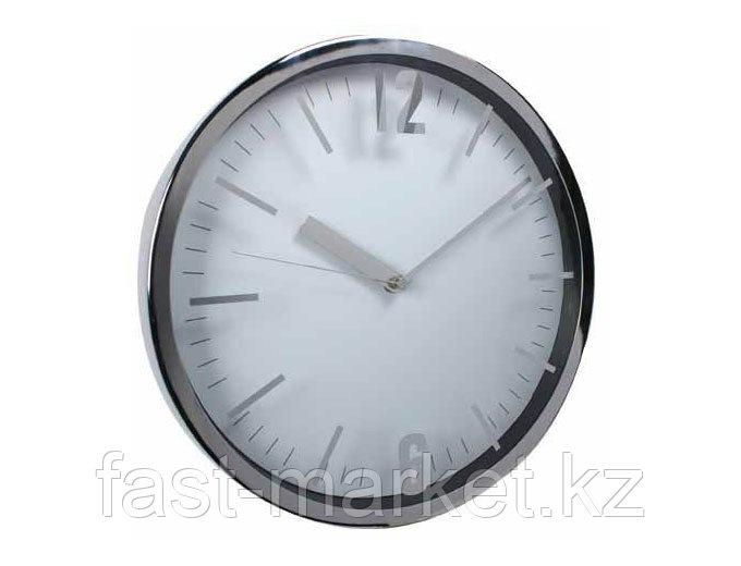 Настенные часы белые алюминиевые