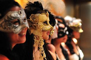 Венецианские маски (маскарадные маски)