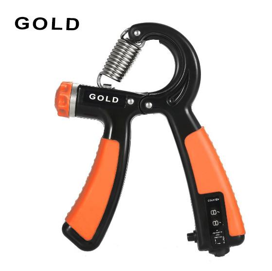 Эспандер кистевой со счетчиком оранжевый - фото 4