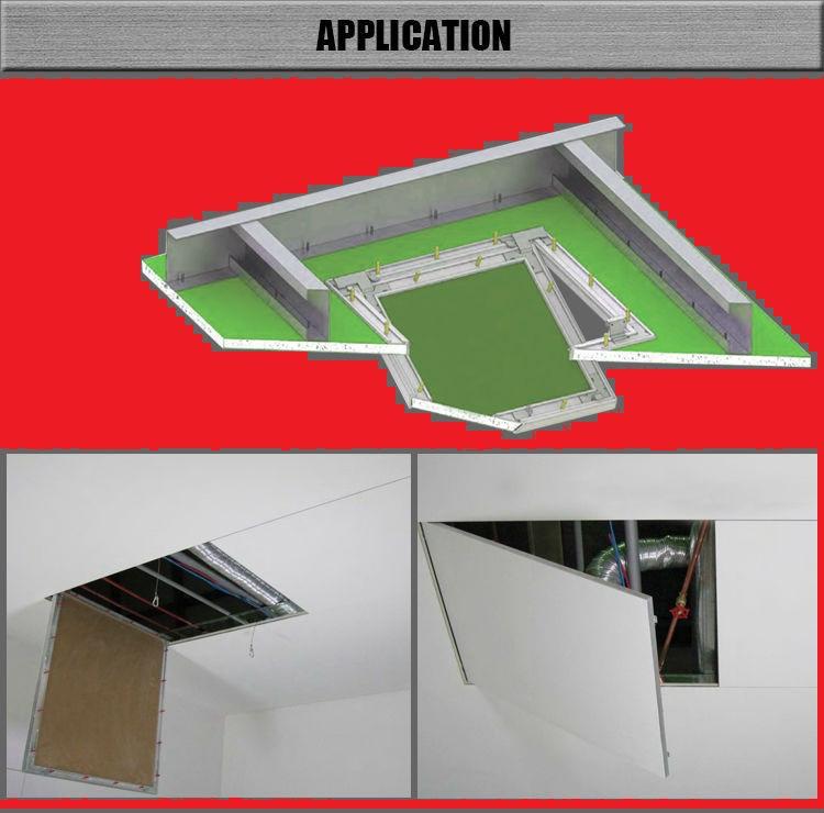 Люк-дверца ревизионная алюминиевая (под покраску) 600х600
