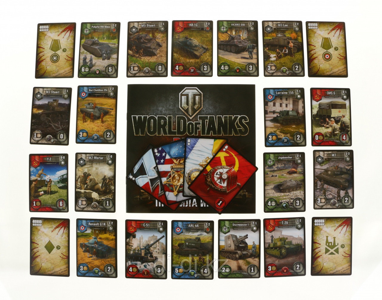 HOBBY WORLD Настольная игра  World of Tanks (Rush)