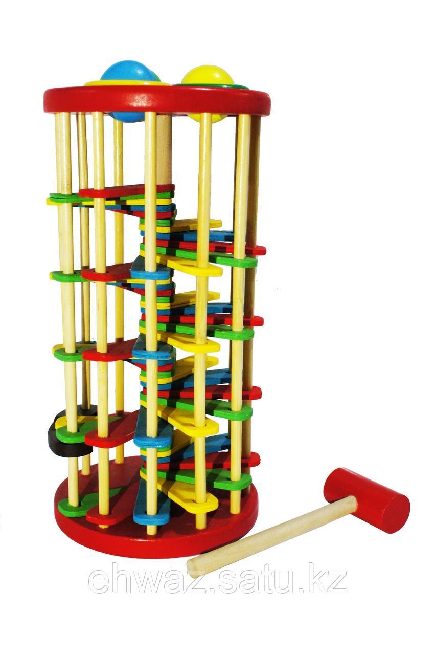 Деревянная игрушка Стучалка с молоточком
