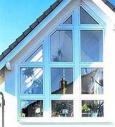 Окна в интерьерах коттеджа