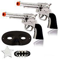 "Набор ковбоя ""Шериф"", 2 пистолета, маска, значок, фото 1"