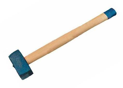 Кувалда 5000 г, кованая головка, деревянная рукоятка СИБРТЕХ