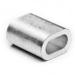 Зажим D-2 мм троса алюминиевый DIN 3093