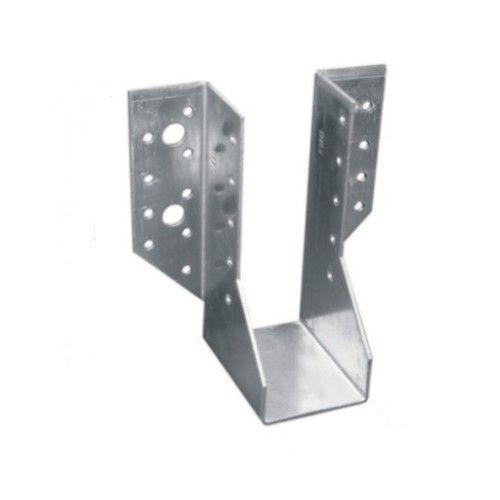 Крепление балок (R)WB30 100*140*2 мм/Опора бруса оцинк. раскрытая 100*140*76*2,0/ OBR-R-100-140