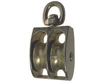 """Блок D-1 1/4"""" двойной металл никель"""