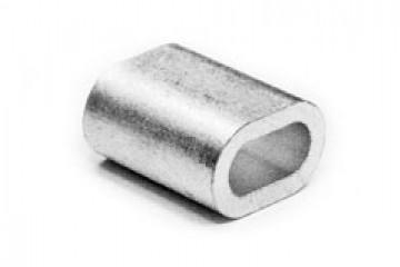 Зажим D-4 мм троса алюминиевый DIN 3093