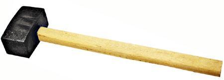 Кувалда 6000 гр кованая деревянная ручка СИБРТЕХ