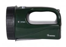 Фонарь КОСМОС Accu9199 LED (акк. 4V 3Ah) 12св/д, зеленый/пластик, индикатор зарядки